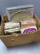 Rock and Pop, a collection of LP and 45rpm vinyl records, including Led Zeppelin, 'Zoso', 1971, Pink