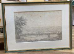 Edward Joshua Cooper (Irish, 1798-1863) and S. Bossi (Italian, active circa 1820-1821) pencil,
