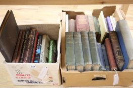 Miscellaneous books including Old English Furniture, The Rolls Royce Motor Car, The Age of Rococo,