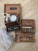 A quantity of box surgeons equipment