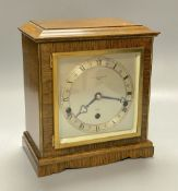 A Leslie Davey & West mantel timepiece
