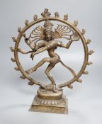 An Indian bronze figure of Shiva Nataraja, early 20th century, height 32cmCONDITION: Provenance -