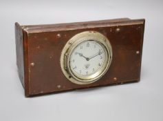 A Smith's clock taken out of the dashboard of Alfred Charles Lester's (1889-1968) Clyno Tourer