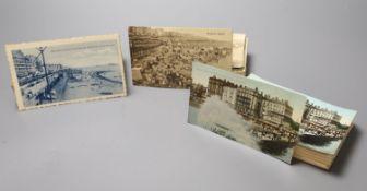 A collection of Brighton postcards