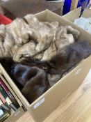 Mixed fur jackets, coats, ties and stoles