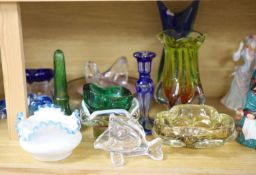 A collection of 1960s and later Studio glass