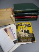A collection of assorted G.B. and worldwide issues, Victorian to Queen Elizabeth II, four albums and