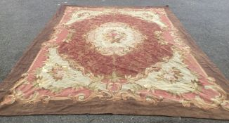 A late 19th century Aubusson tapestry