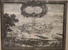 Ansicht, Thorn, Pufendorf, Nürnberg, 1696 Thorunium. Primaria Prußiae Regal Urbis d. 26. Nov 1655,