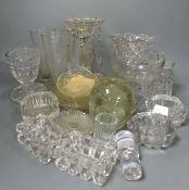 A quantity of mixed glass