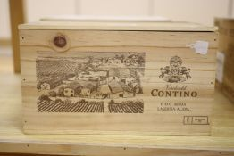 Six bottles of Contino 930 Rioja Reserva OWC, 2010