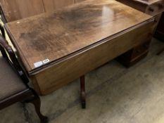 A Regency mahogany Pembroke breakfast table, width 100cm, depth 60cm, height 69cm