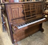 A Bechstein upright piano