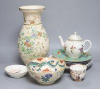 Assorted Chinese, Japanese and European ceramics
