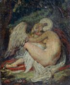 Circle of William Etty (1787-1849)oil on cardoil on cardLeda and the Swan3.75 x 3in.