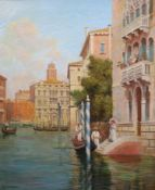 Arthur Trevor Hadden (1864-1941)pair of oils on canvasVenetian canal scenessigned30 x 25in.