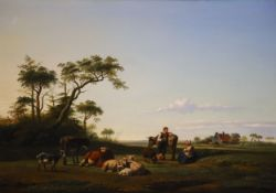 Simon van den Berg (Dutch, 1812-1891) and Christiaan Immerzeel (Dutch, 1808-1886)oil on panelOpen
