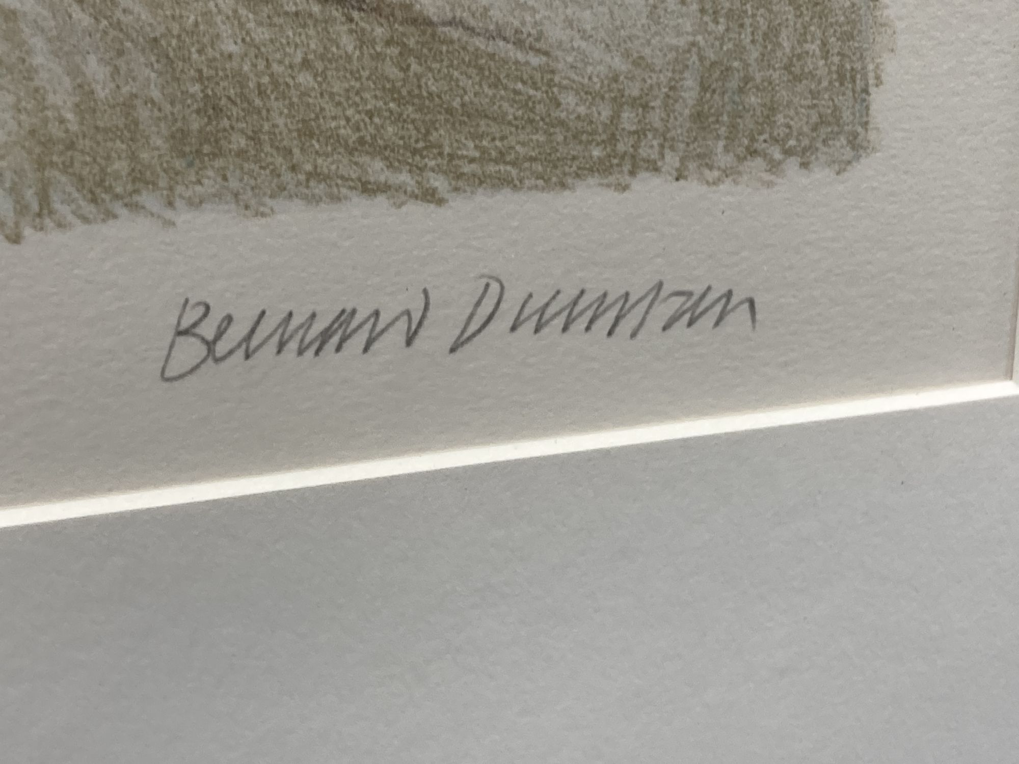 Bernard Dunstan (1920-2017), lithograph, 'Nude I', signed in pencil, 12/95, 40 x 39cm. - Image 3 of 4