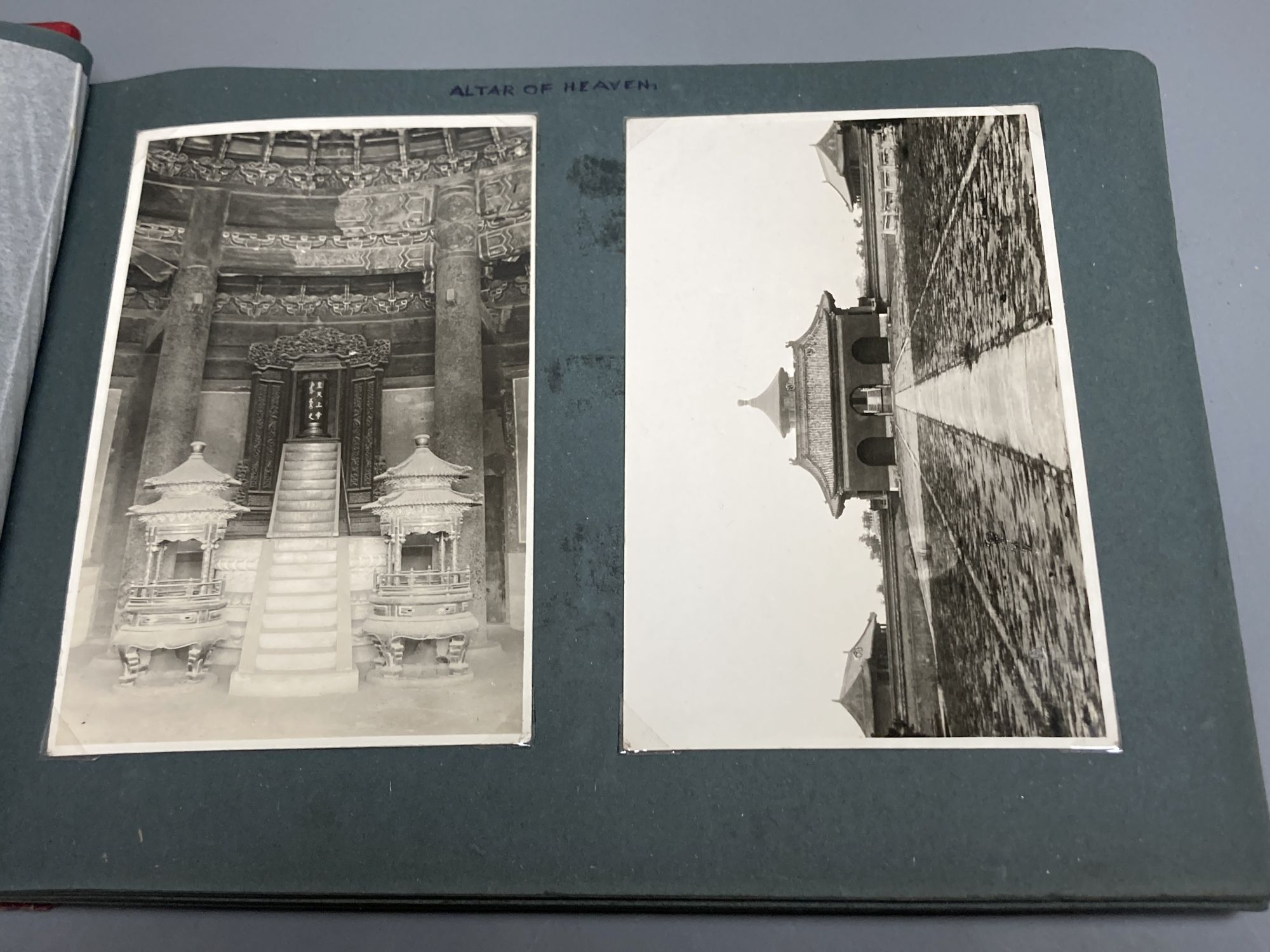 China, Japan and S.E Asia, early 20th century - an album of postcards, including views of the - Image 2 of 6