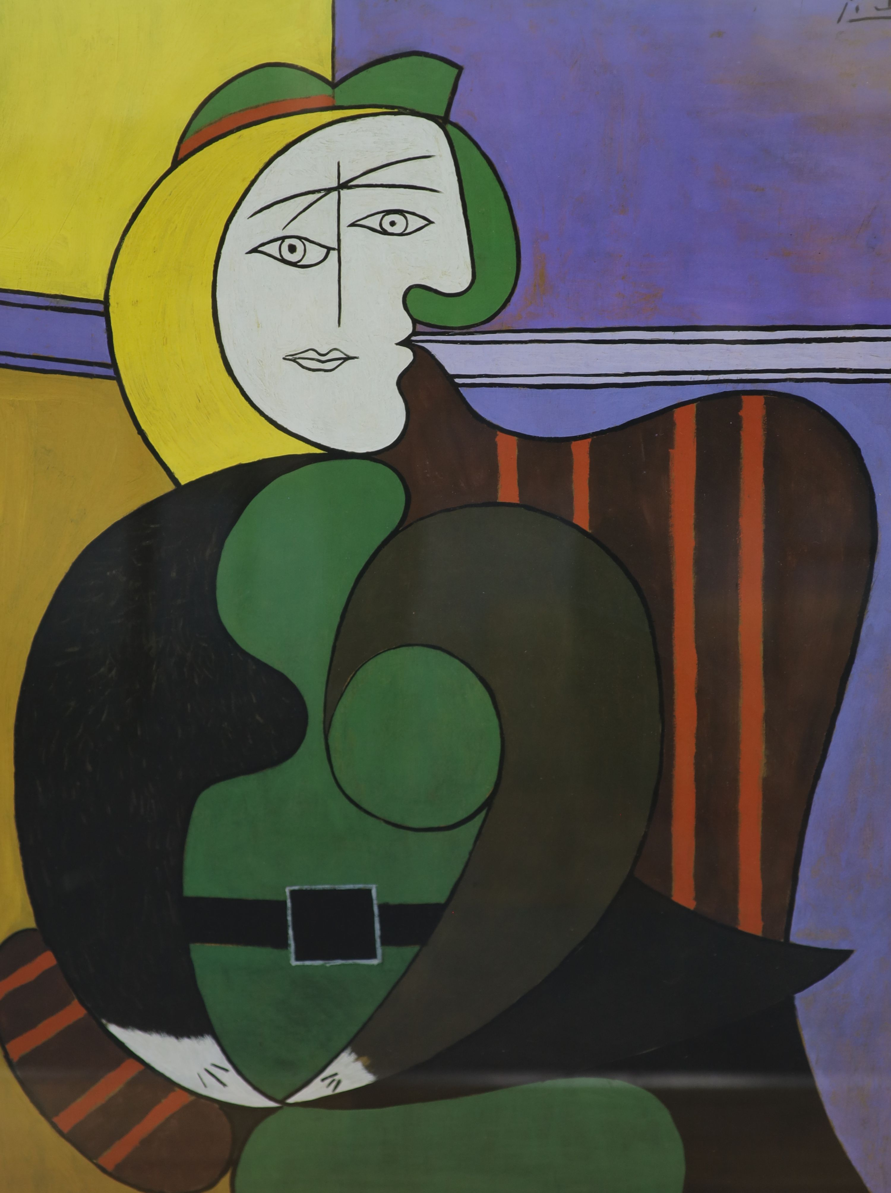 Four modern colour prints, After Picasso and others, 63 x 47cm - Image 2 of 5