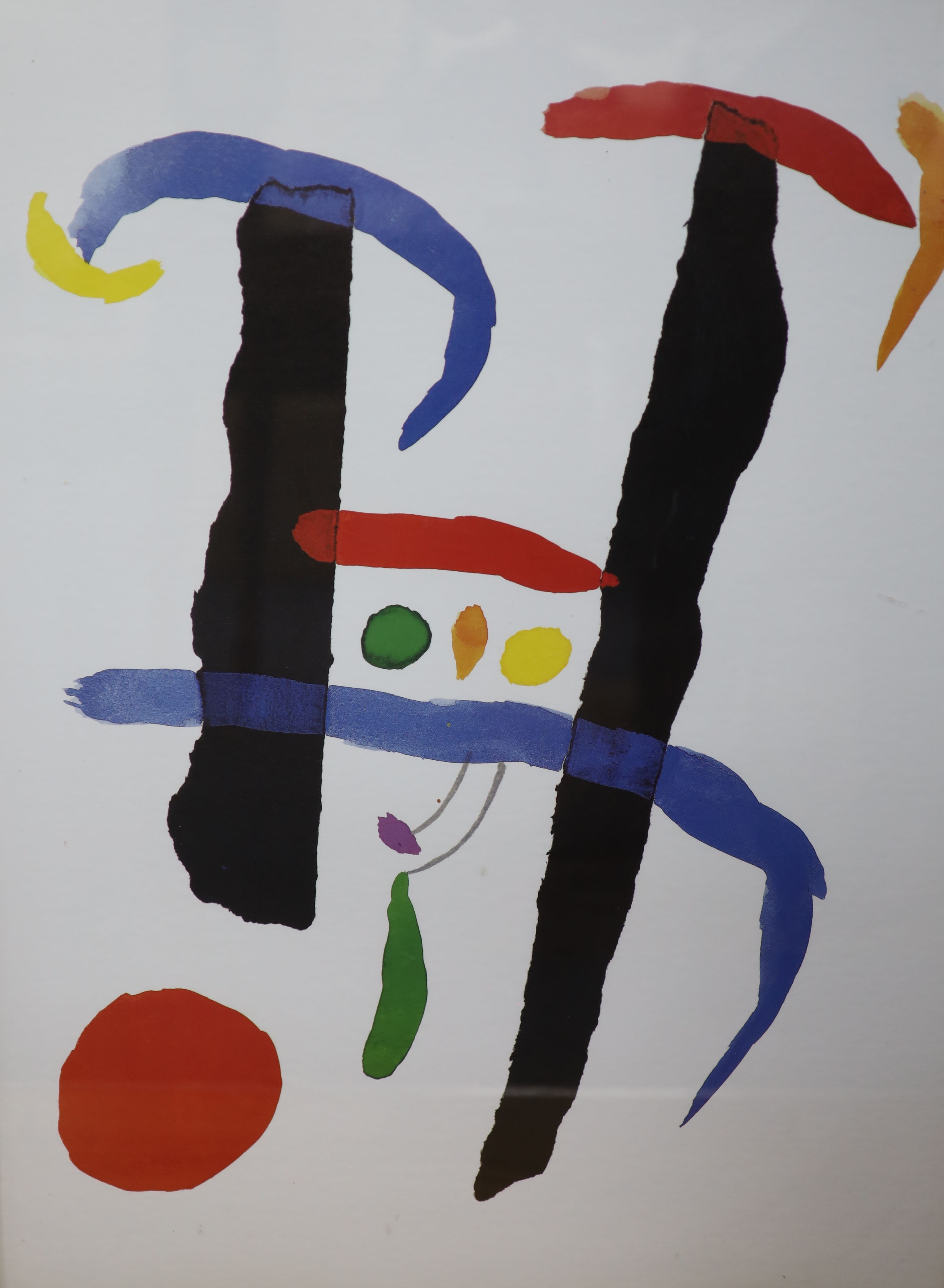 Four modern colour prints, After Picasso and others, 63 x 47cm - Image 3 of 5