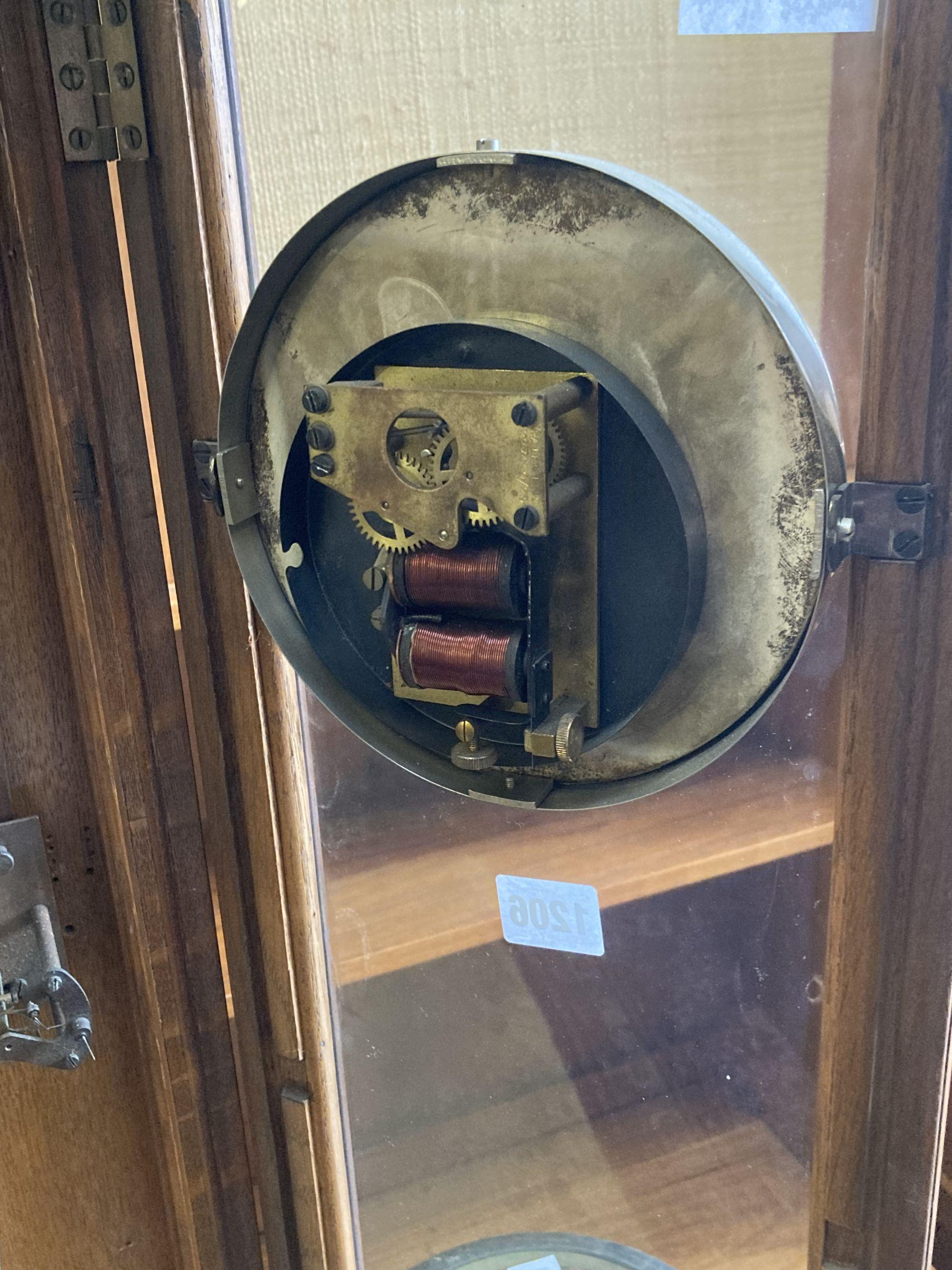 A Chronomatic oak master pendulum clock - Image 4 of 4