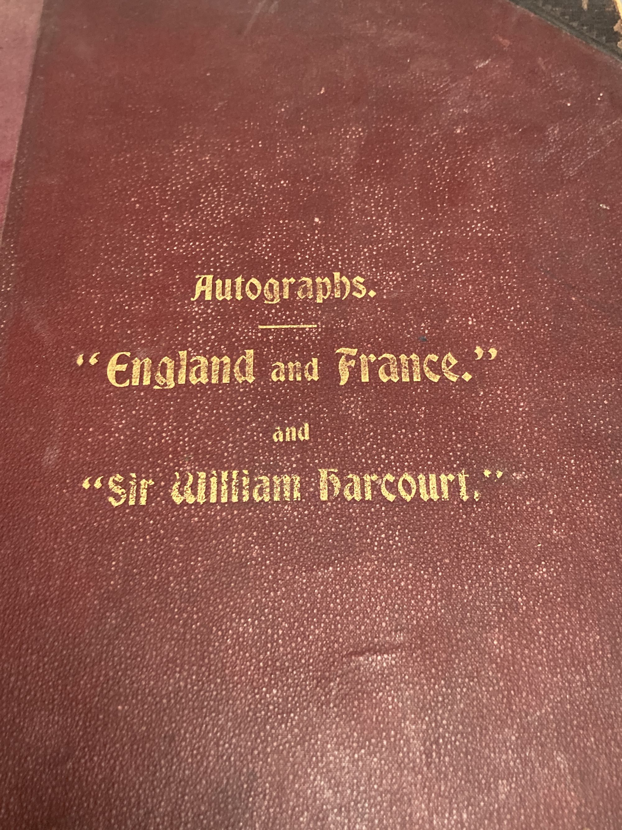An autograph album of notable Edwardian and 1920s people - Image 2 of 4