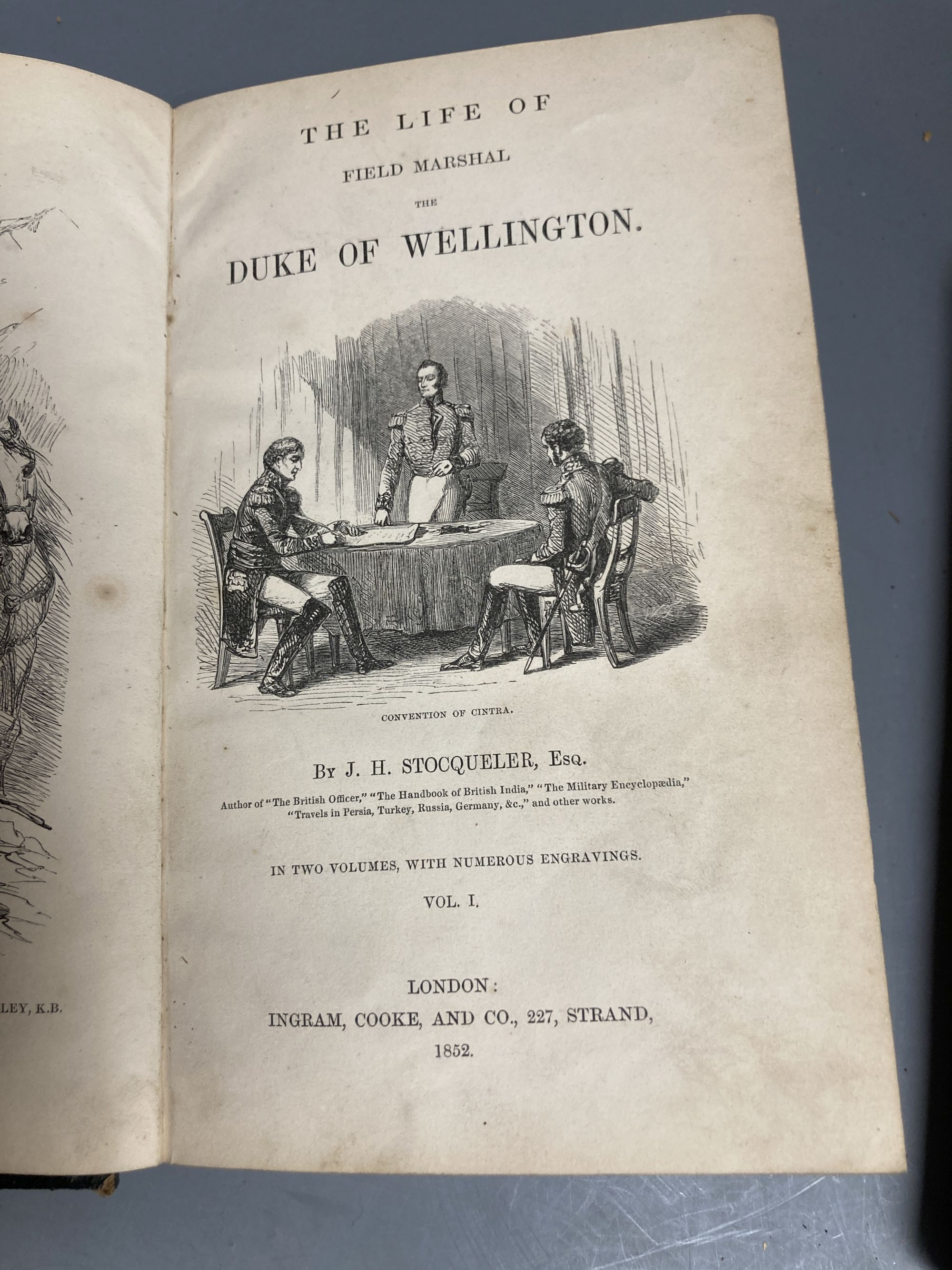 Two volumes of Life of Wellington and other volumes - Image 2 of 2