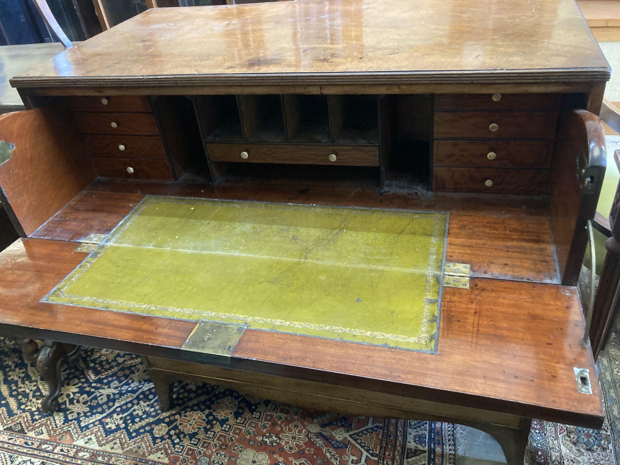 A Regency mahogany secretaire chest, width 106cm depth 55cm height 106cm - Image 3 of 4