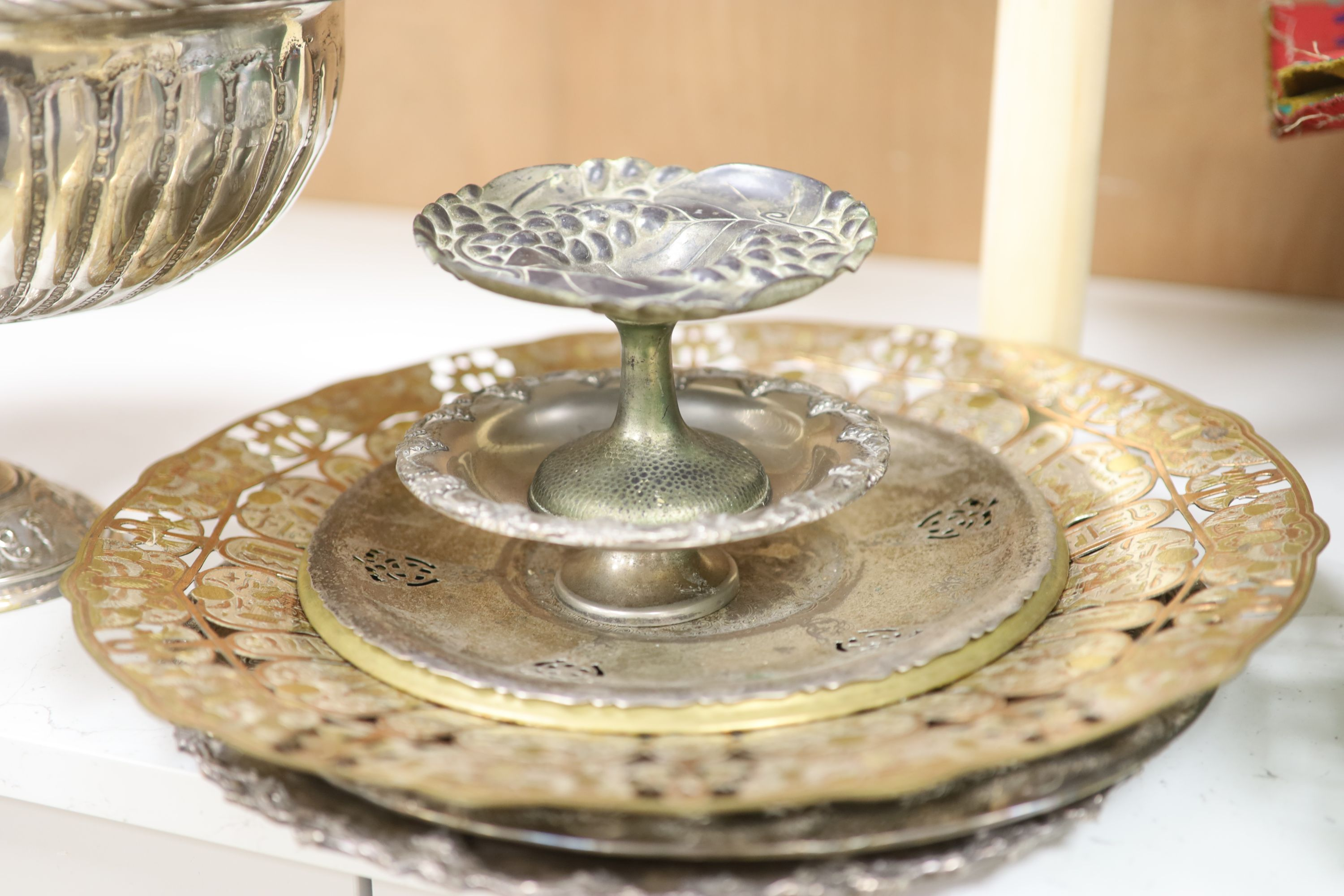 A quantity of mixed plated wares - Image 4 of 5