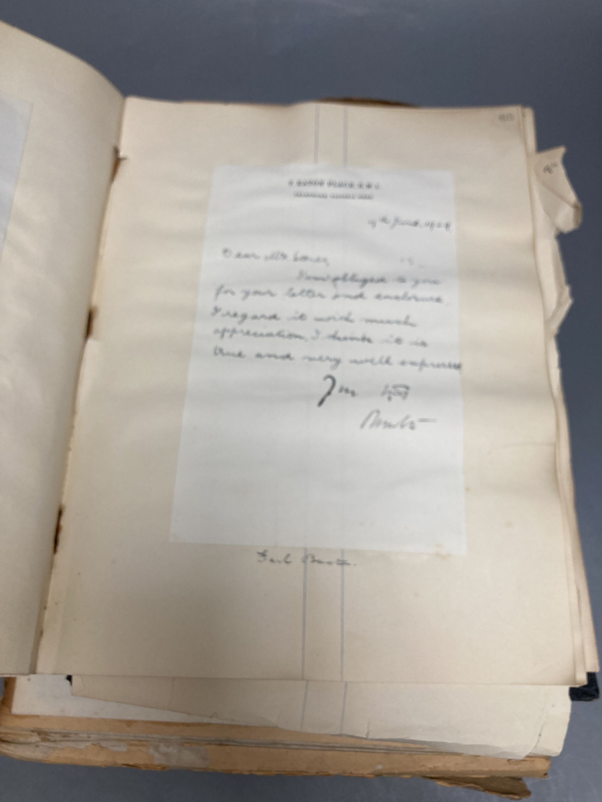 Various autograph albums, famous people of the day, Victorian and later - Image 4 of 5