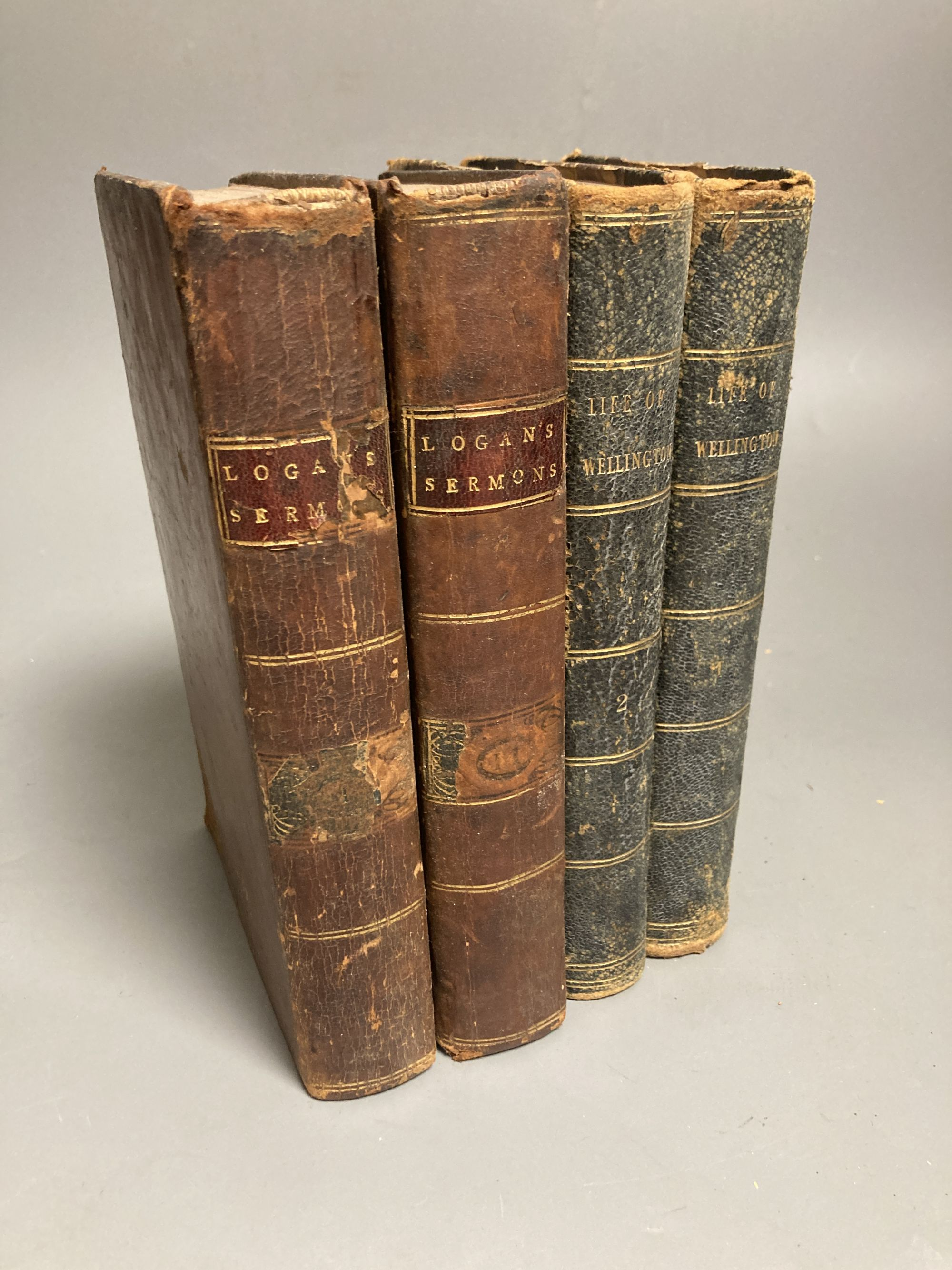 Two volumes of Life of Wellington and other volumes