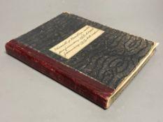 A 1913 - 1919 Nursing Journal