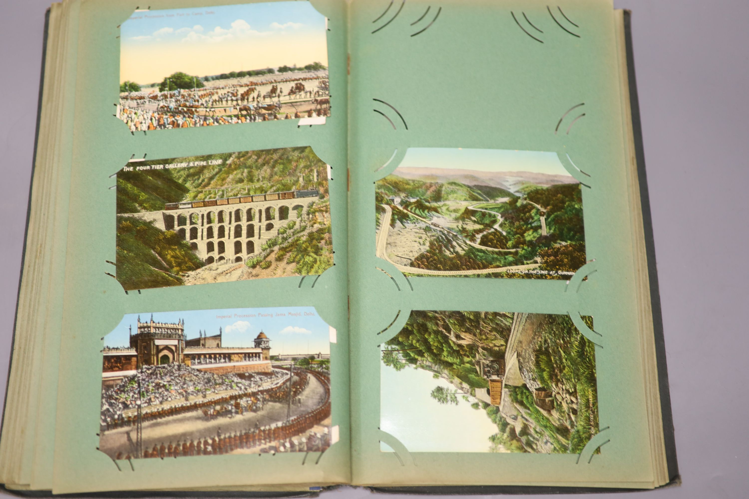 An album of Edwardian and later postcards and large quantity of loose postcards, pre and post war, - Image 5 of 6