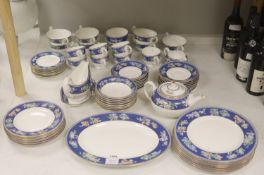 "A Wedgwood bone china ""Blue Siam"" tea and dinner service"