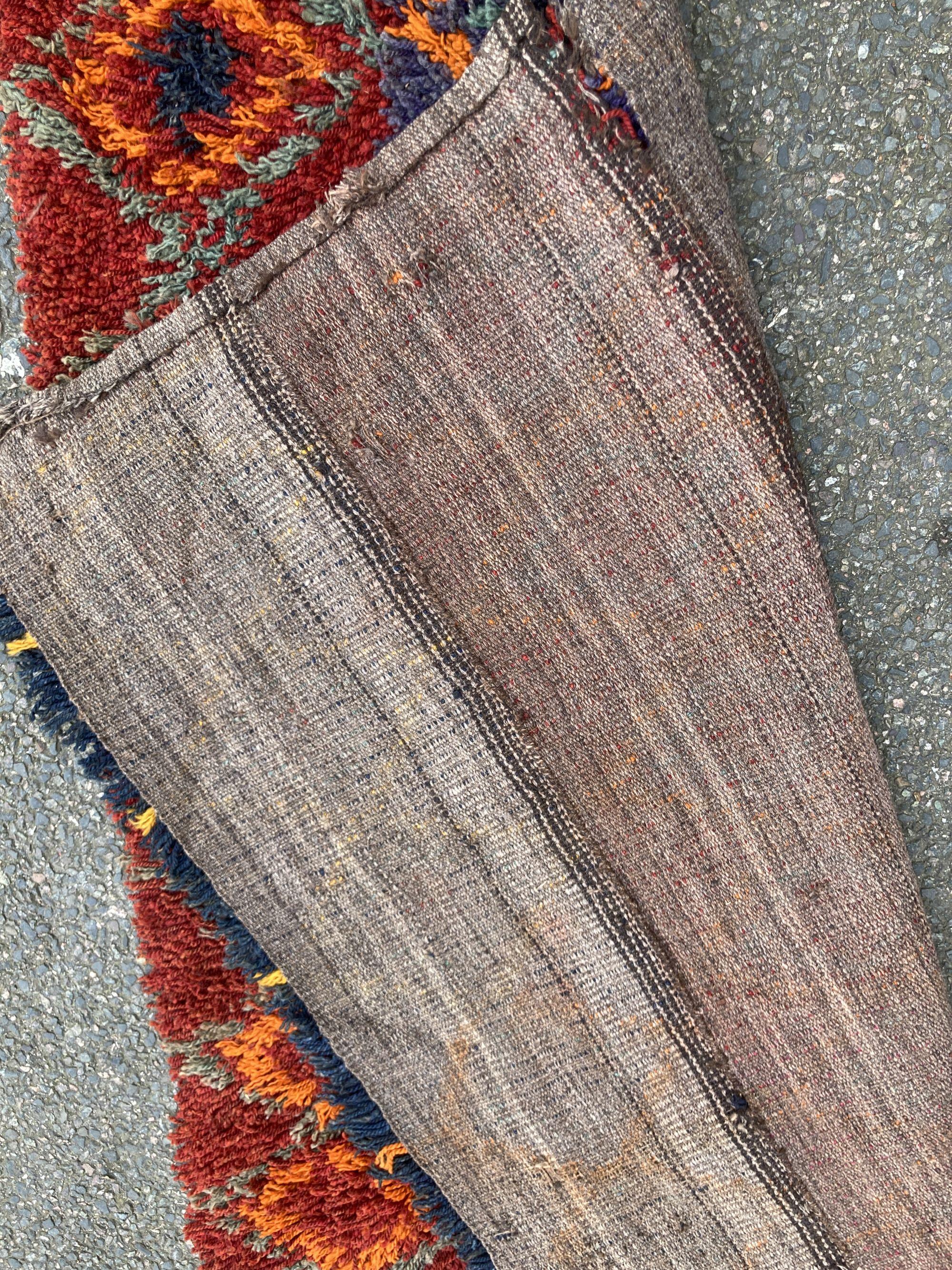 A Turkish wool rug, 187 x 114cm - Image 2 of 2