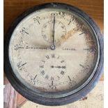 A Synchronome slave dial timepiece