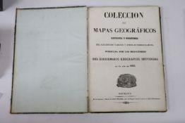 Torner (Jose) [Printer], Coleccion de Mapas Geograficos Antiguos y Modernos del Acreitado Tardieu