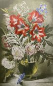 Gerald Cooper, Print for Schools, 'Striped Lily' (SP.12), 71.5 x 49cm