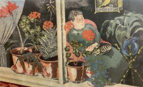 John Nash, Print for Schools, 'Window Plants' (SP4), 49 x 76cm