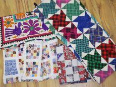 Four modern quilts
