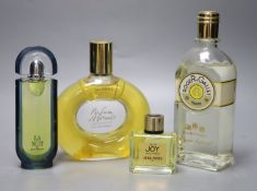 Four advertising display dummy factices; Roger & Gallet, Jean Patou, Paco Rabanne La Nuit and