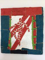 Stephen Buckley (b.1944) Jig One, 2012 oil on board 25 x 23 cm