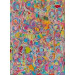 Garth Lewis (b.1945) Svitato, 2006-08 acrylic paint on printed canvas 158 x 114 cm