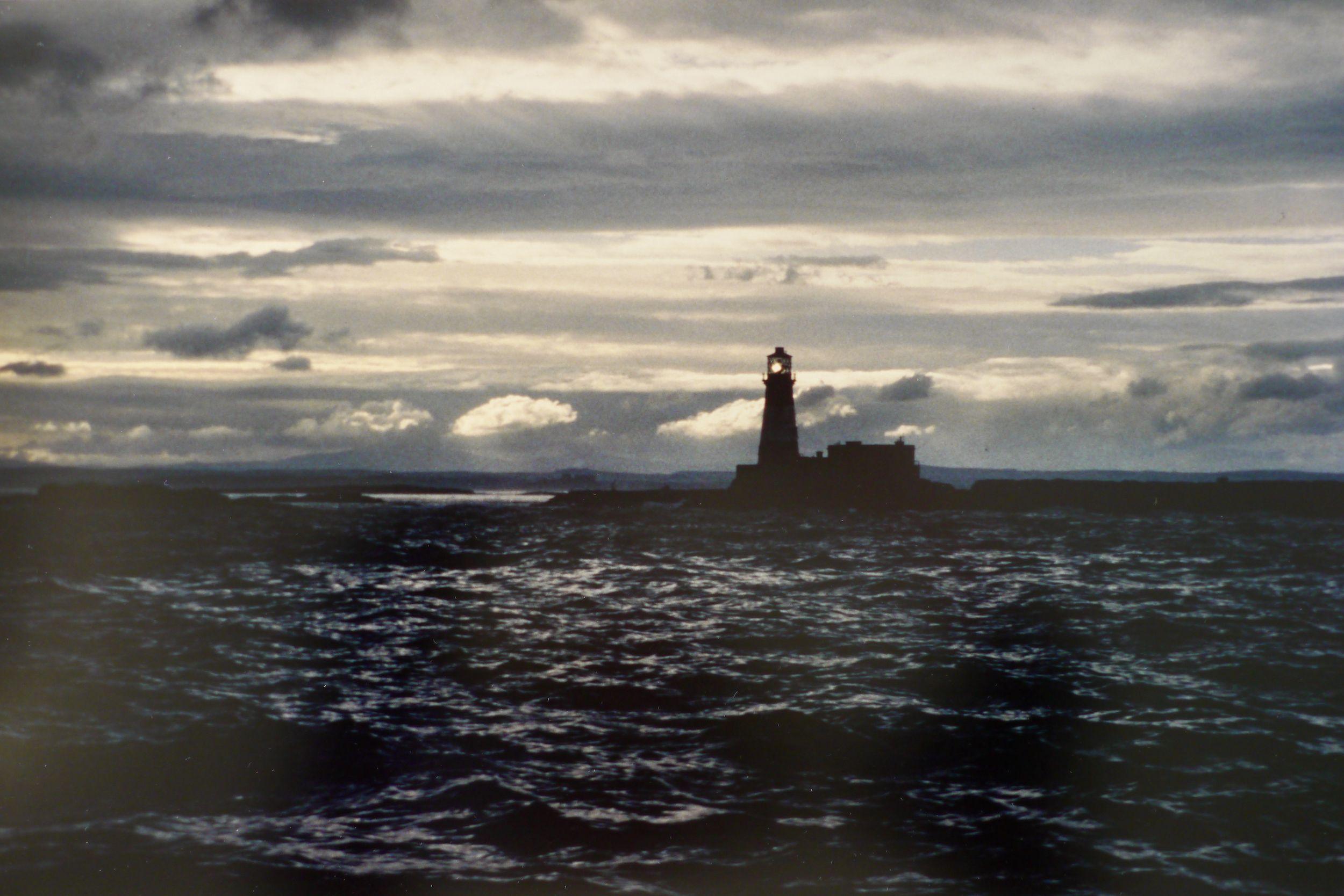 Tacita Dean (b.1965) Longstone Lighthouse, 1996, analogue photograph, 35 x 53 cm.