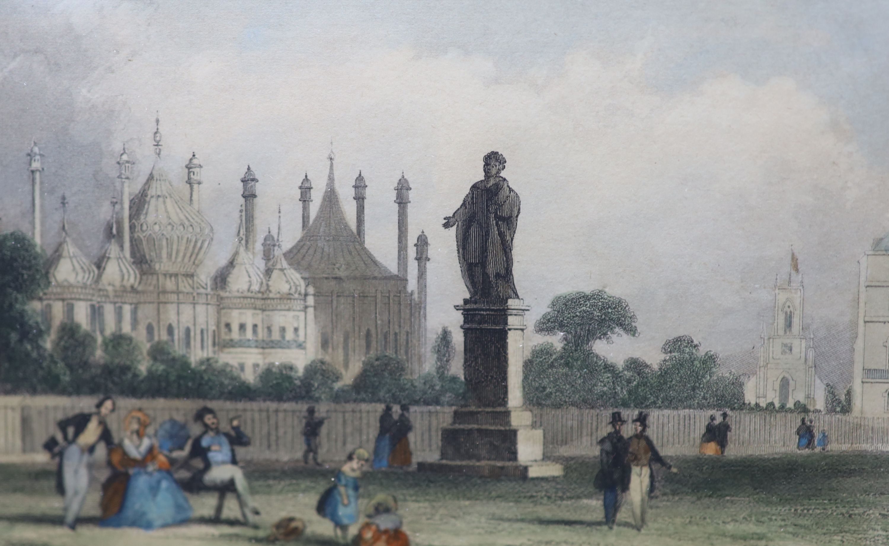A collection of nineteen assorted 19th century Brighton related prints, largest 15 x 21cm - Image 5 of 6