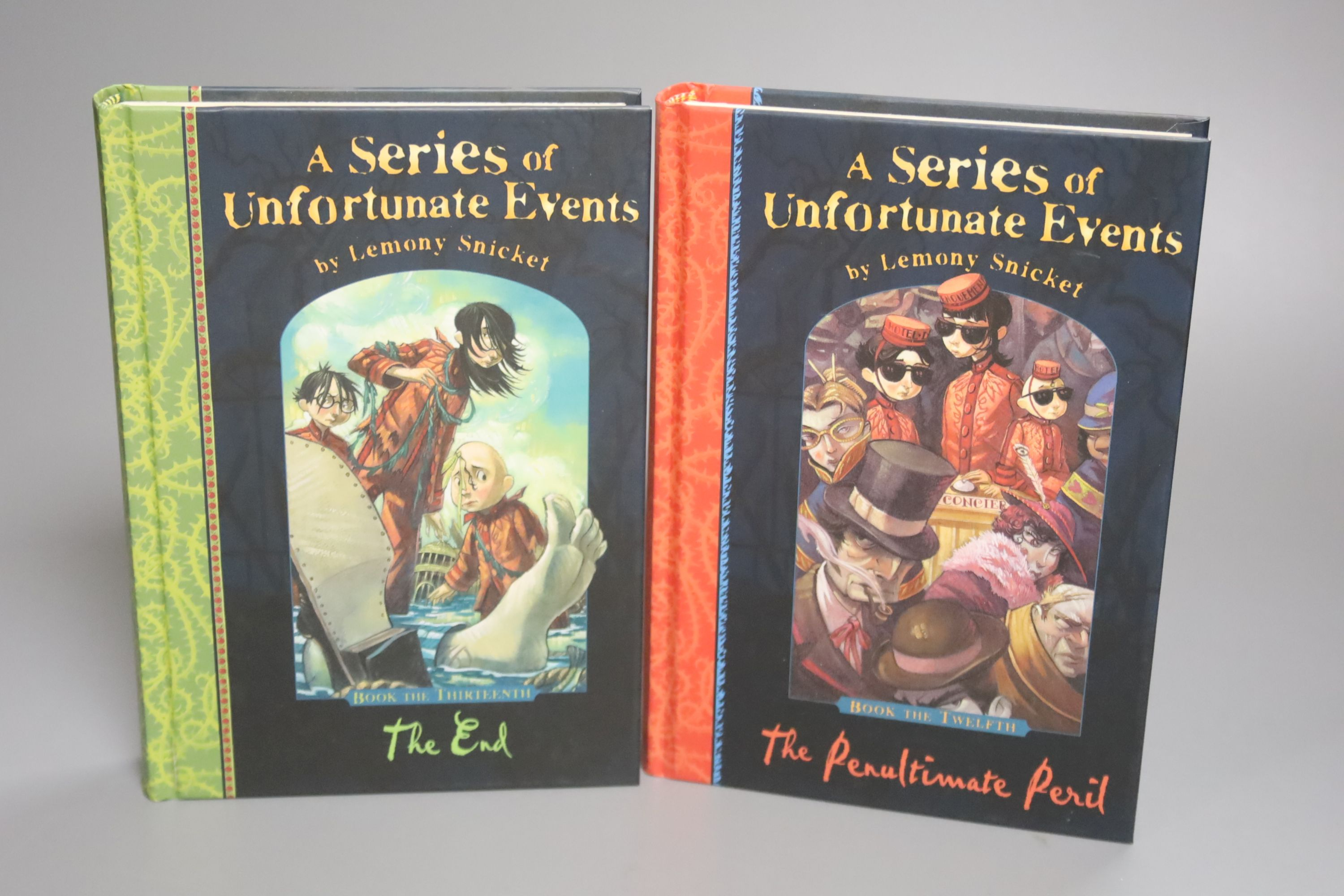 Snicket, Lemony – A Series Of Unfortunate Events (complete, books 1 – 13) 16mo, first editions, - Image 2 of 4