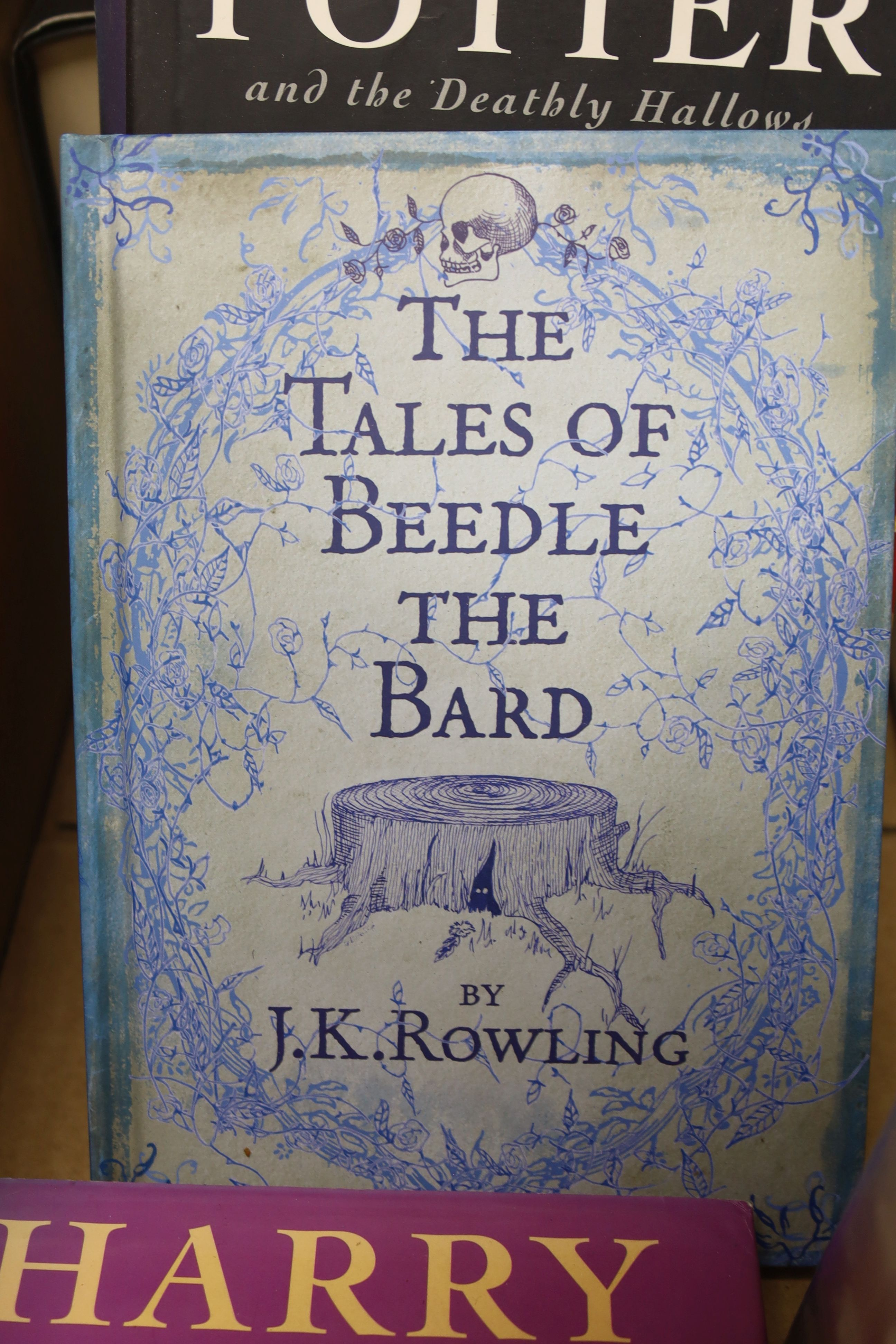 Rowling, J.K – A collection of Harry Potter editions:Prizoner of Azkaban, Bloomsbury 1999, second - Image 2 of 5