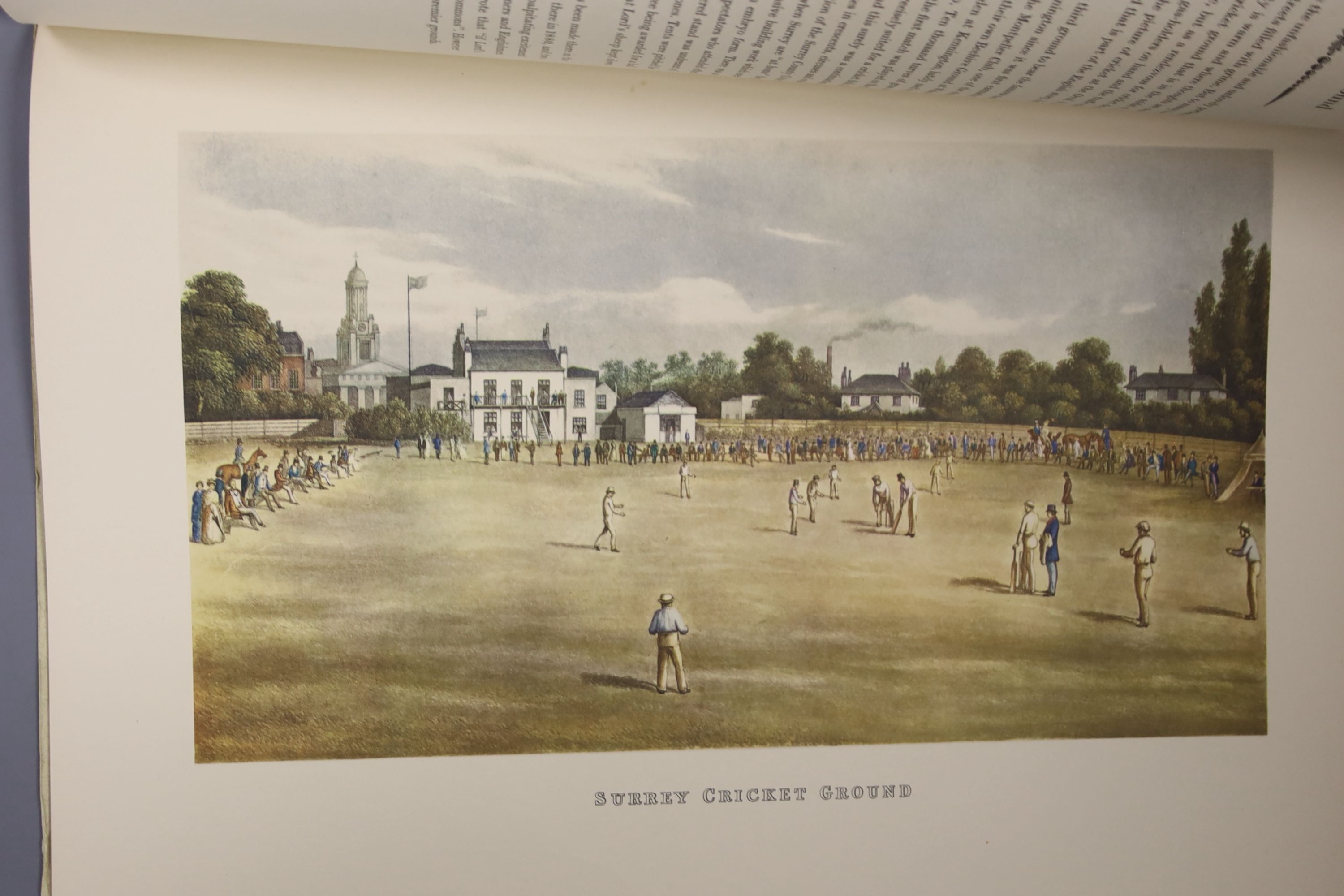 Rosenwater, Irving – A Portfolio of Cricket Prints: a nineteenth century miscellany, 8 coloured - Image 6 of 6