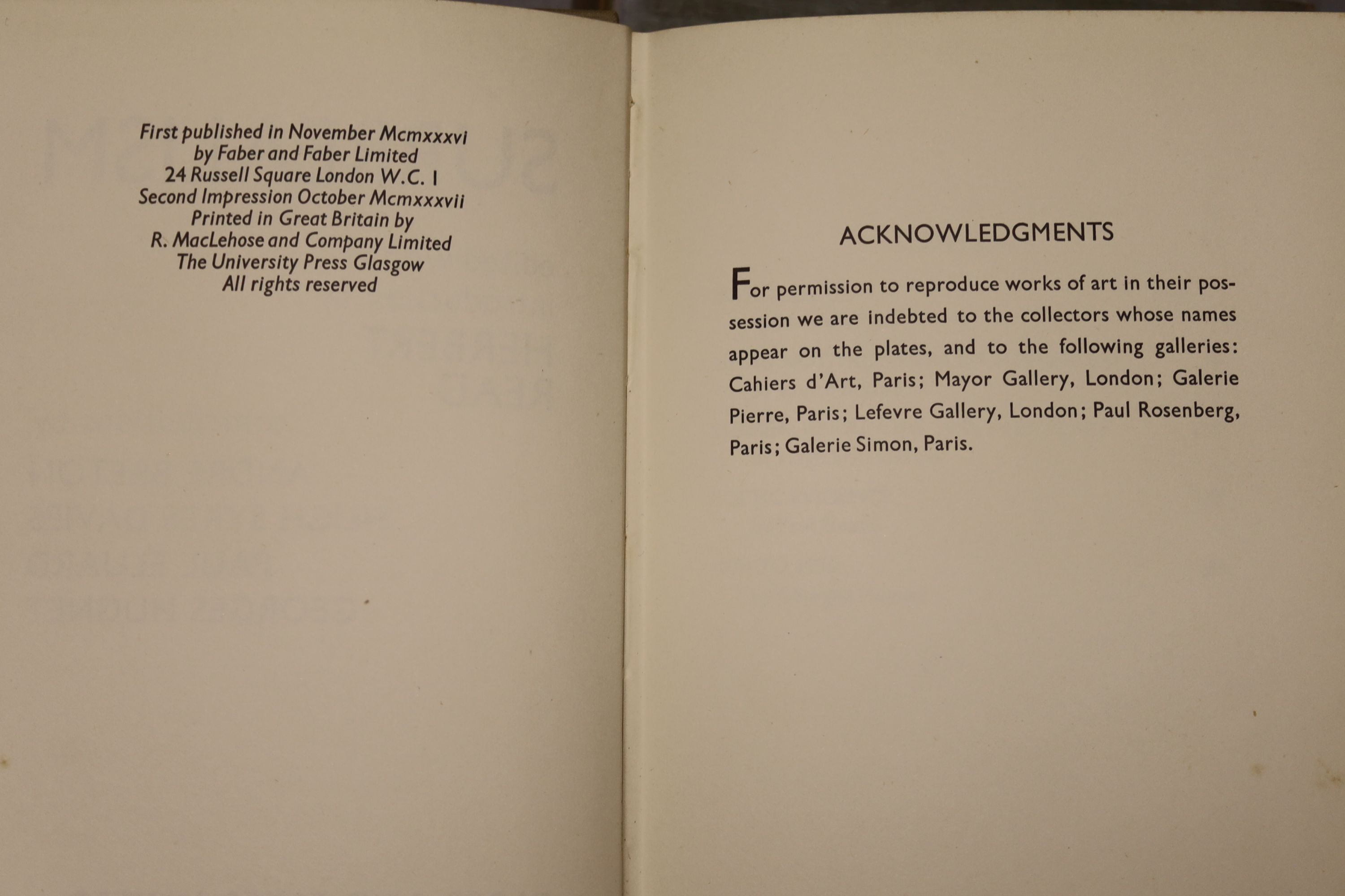 Yeats, William Butler - Last Poems, one of 2000,8vo, cloth, MacMillan, London 1940; Read, - Image 6 of 8